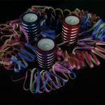 Kerzenhalter mit Spirale